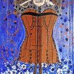 Matadors fantomatiques   Marie-Clémence 50 x 95 cm
